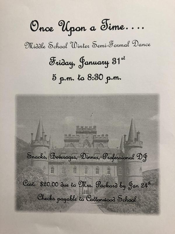 Winter Formal Flyer