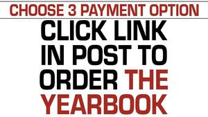 Flyer for yearbook sales.
