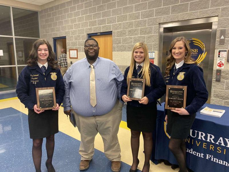 Murray State University's Hutson School of Agriculture recognizes area FFA students for outstanding accomplishments Featured Photo