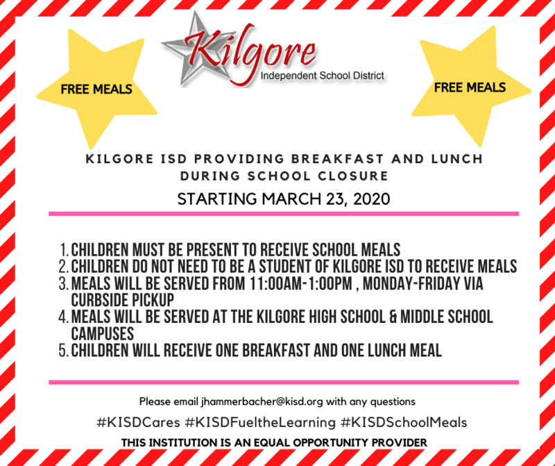 KISD Meal Service During School Closure for Children Featured Photo