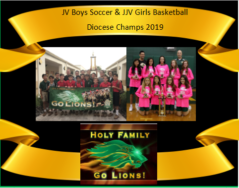 Boys JV Soccer & Girls JJV Basketball Undefeated Seasons Featured Photo