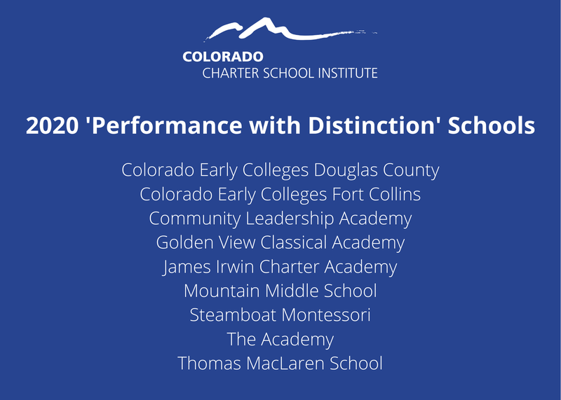 CEC Parker Earns Performance with Distinction Rating for 2020! Featured Photo
