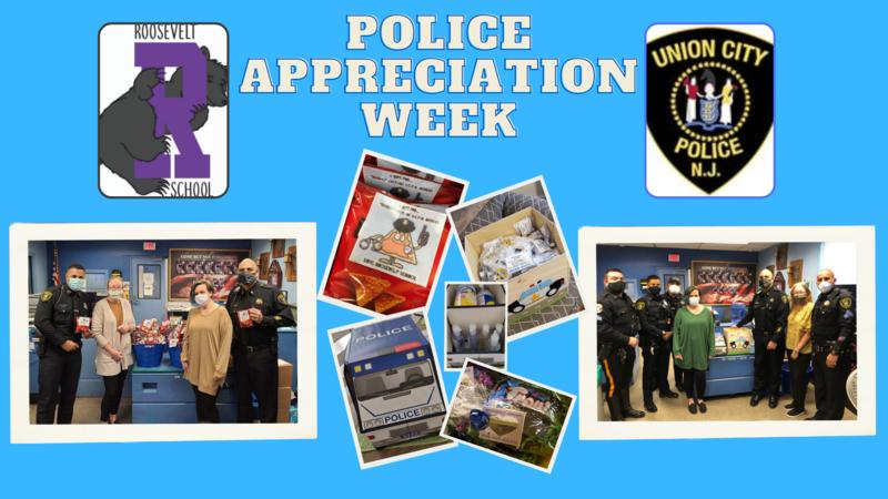 Police Appreciation Week collage