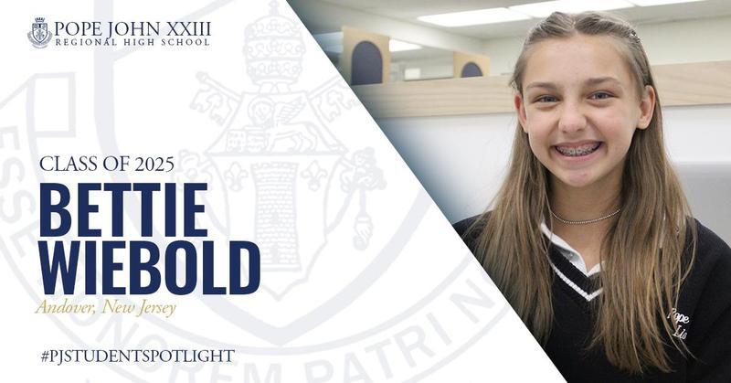 Bettie Wiebold Pope John Student Spotlight