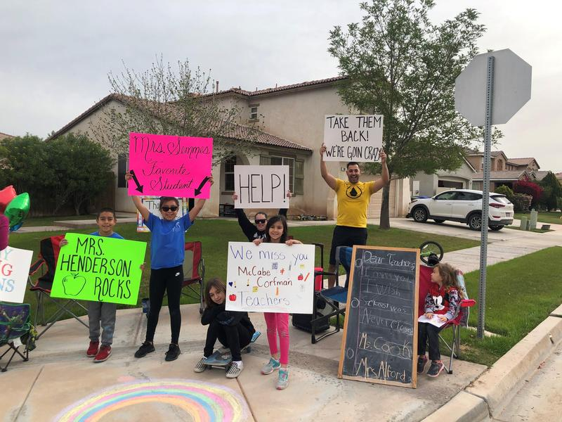 The McCabe staff took to the streets for their first McCabe Parade! Thumbnail Image