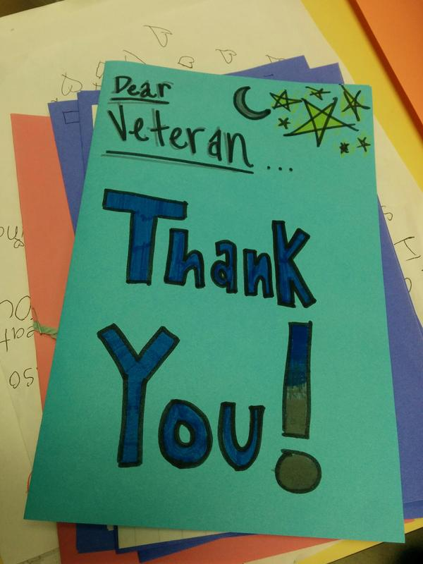 Photo of thank you note