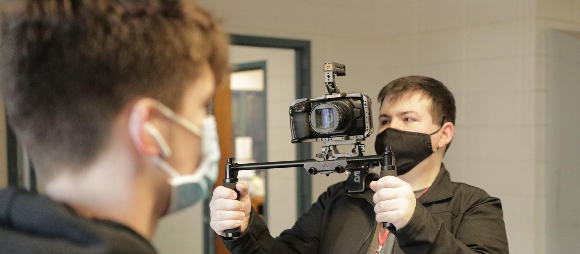 Audio Video Students