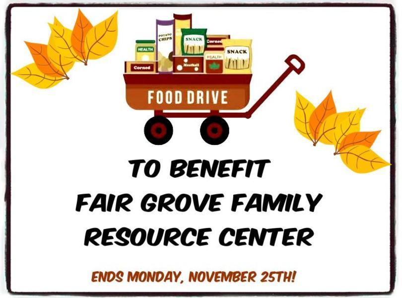 Food drive info