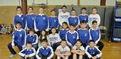 B-U Middle's Wrestling Team