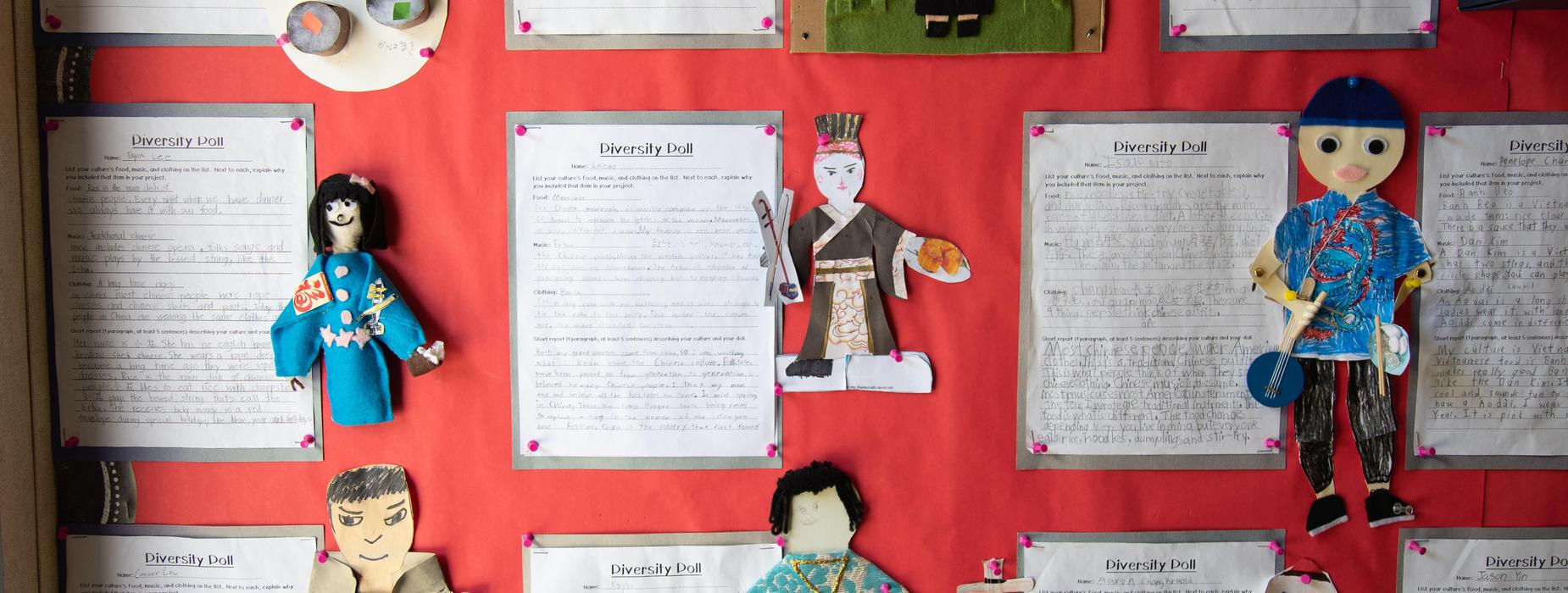 Marguerita School Work - Diversity Doll