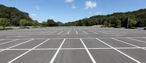 A generic picture of a parking lot, indicating the upcoming dates for Mead student parking lottery coming in May, 2019.