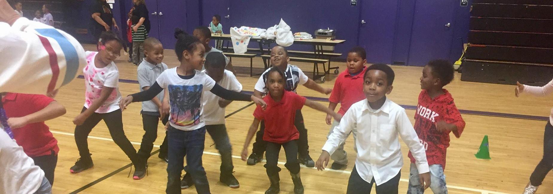 Scholars dancing