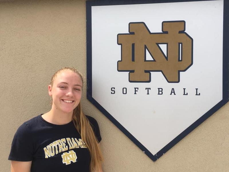 Bryn Boznanski will play softball for Notre Dame Featured Photo