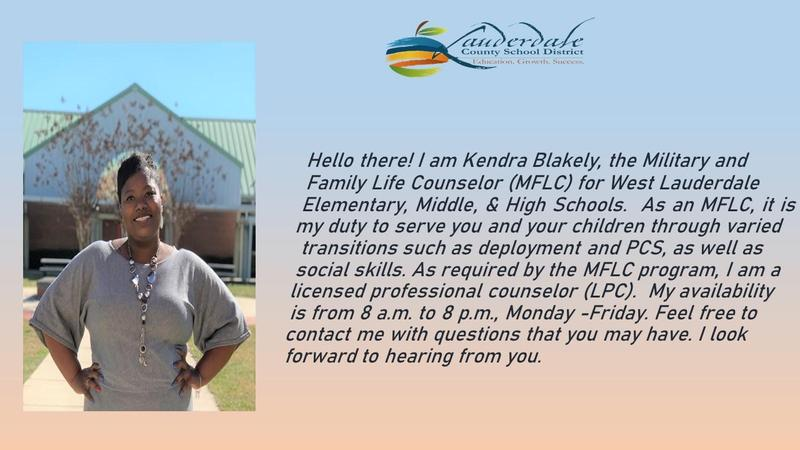 Kendra Blakely, WLE Military & Family Life Counselor