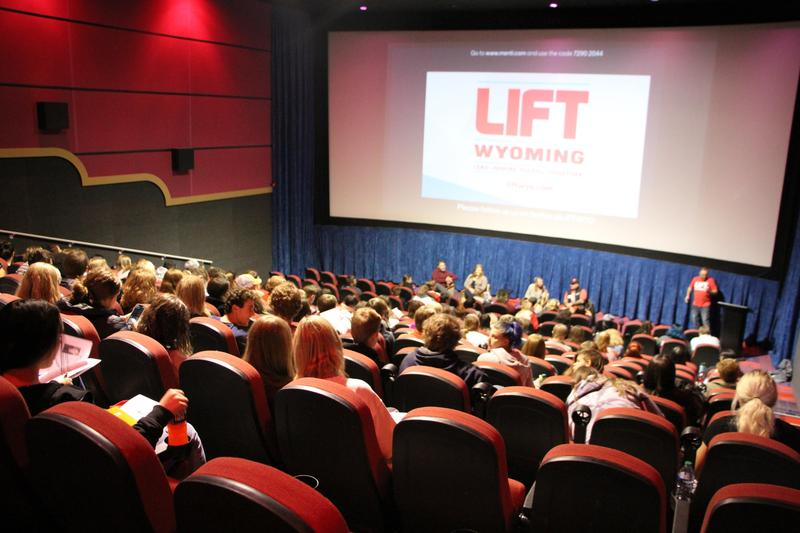 Audience at LIFT Wyoming Event