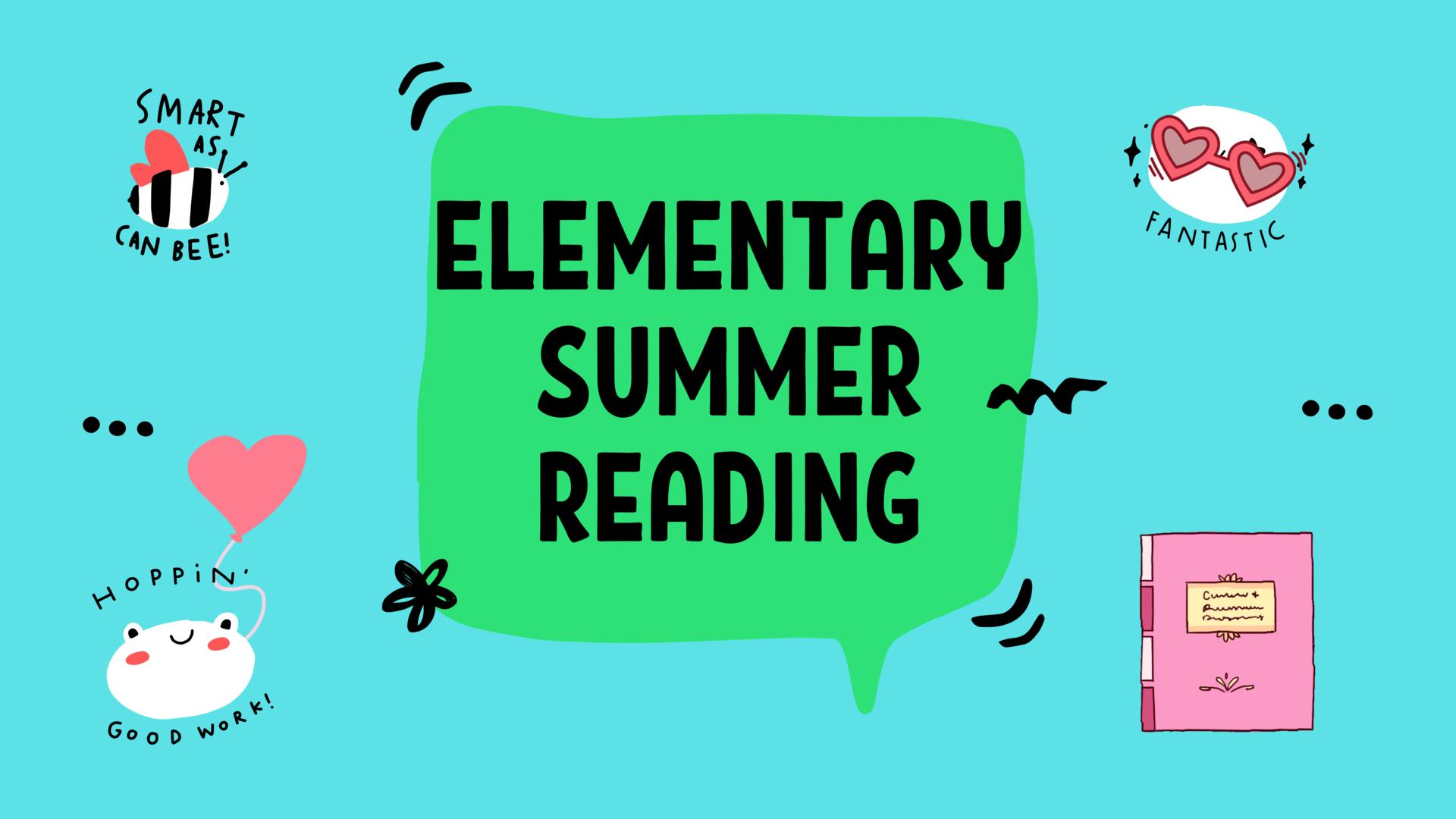 Elem English Summer Reading