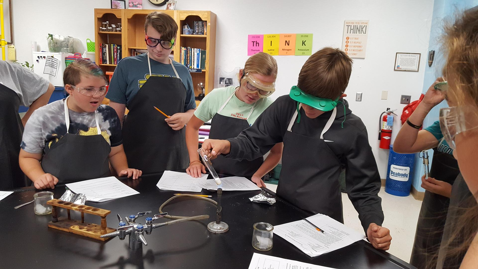 Physical Science Lab Picture