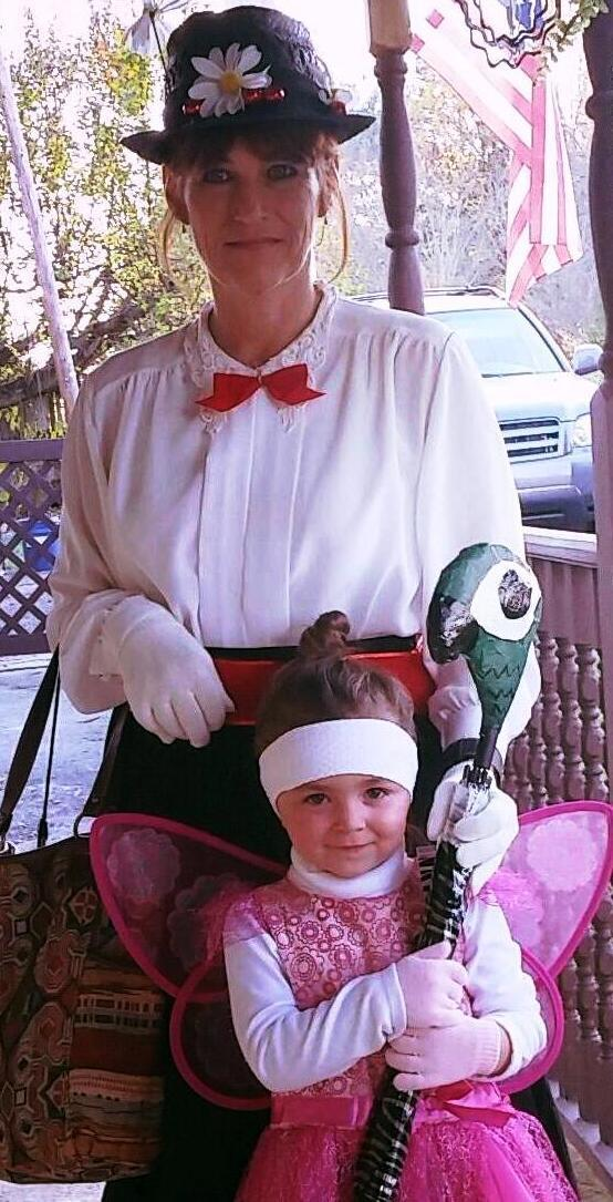 Mary Poppins and a cute little Fairy