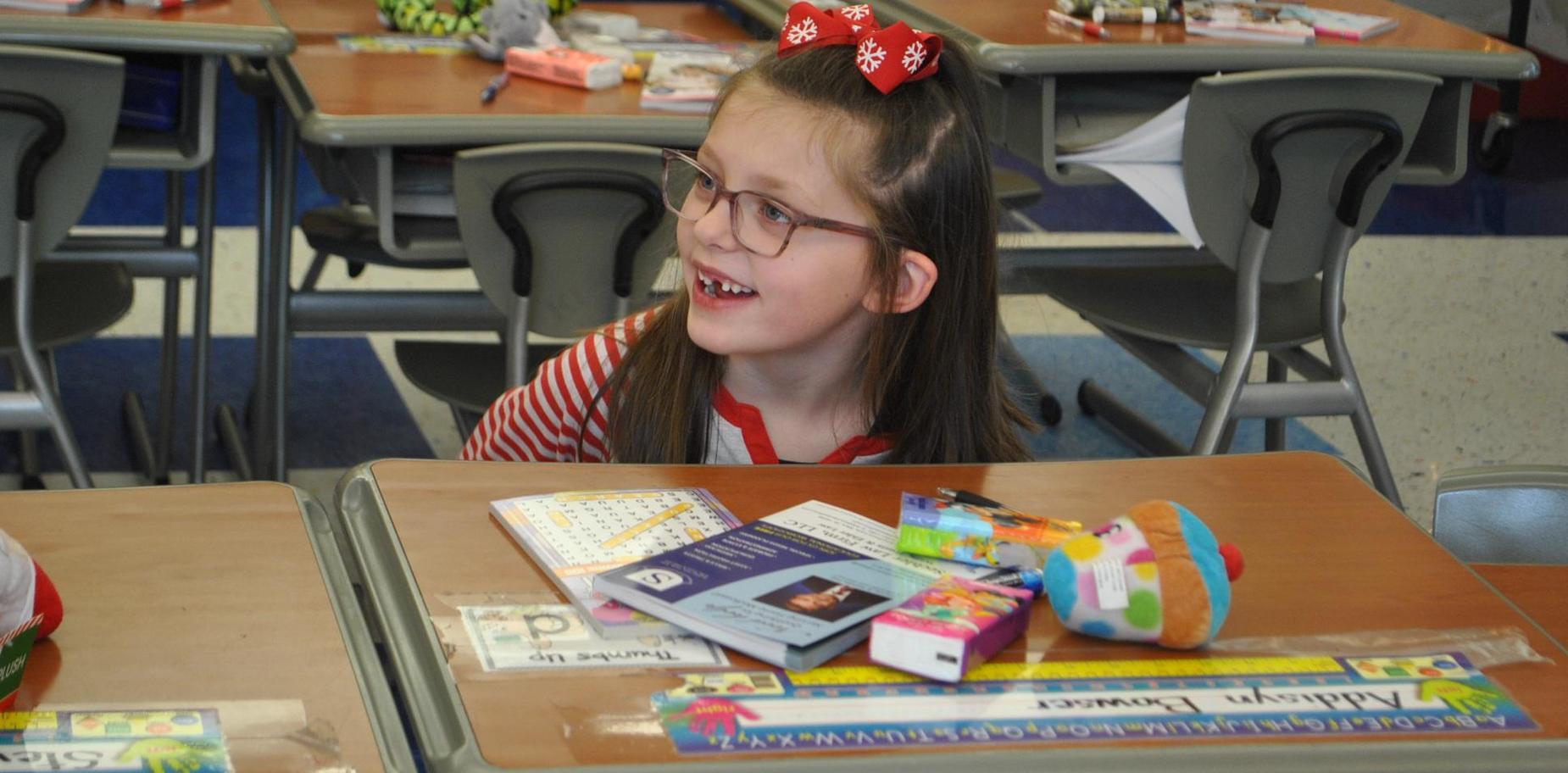 SBPS first grader
