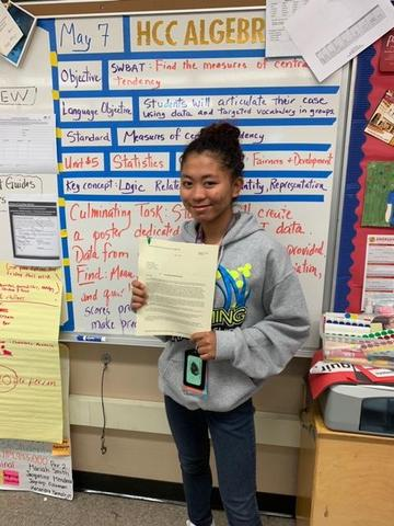 Foshay 10th Grader Wins Warren Christopher Scholarship and Will Attend National Student Leadership Conference! Featured Photo