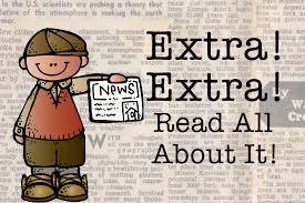 Extra Extra Read All About It