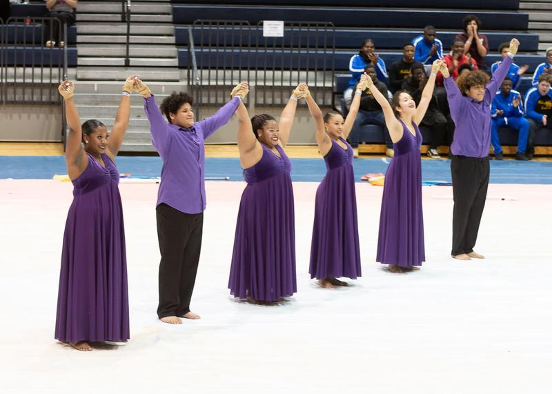 RHHS Winter Guard Places 1st at Winter Guard Competition Featured Photo