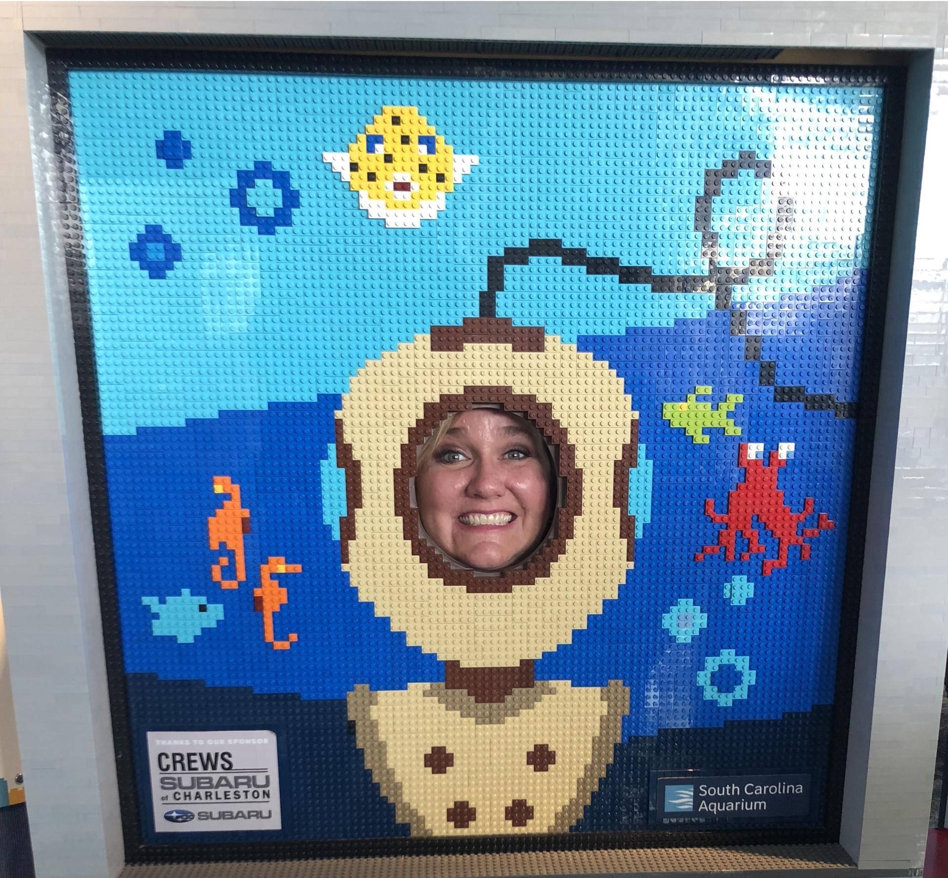 Lego Aquarium Diver