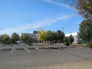 The front of FGHS
