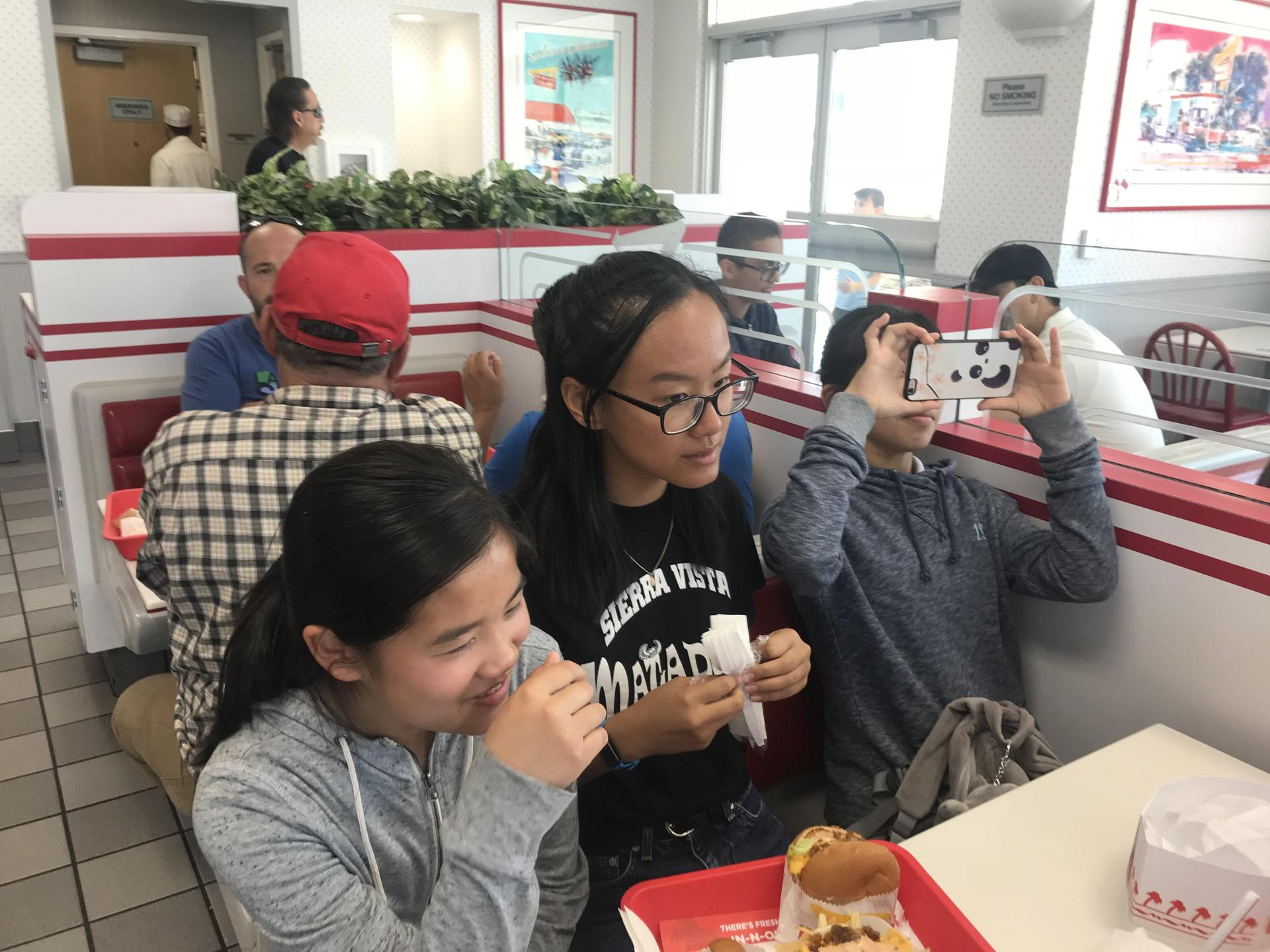 Running Club at In-N-Out