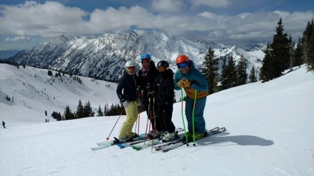Gonder Family Ski Picture