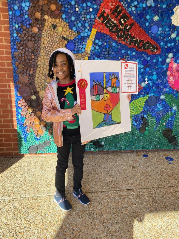 Winner of Art Competition
