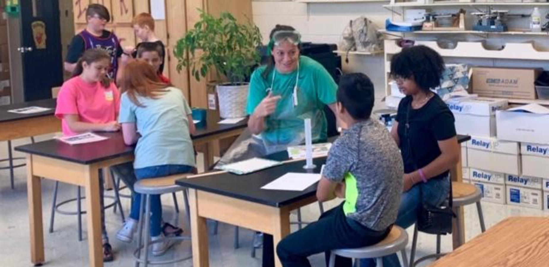 Science Lab Experiment for 7th Grade