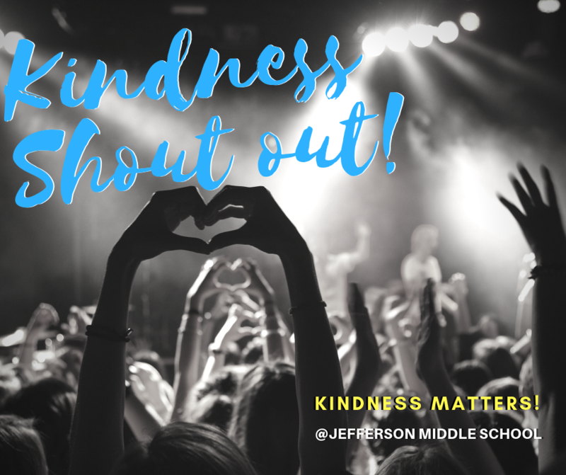 Kindness Shout Outs! Thumbnail Image