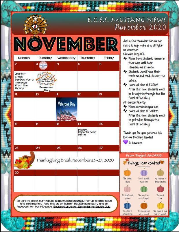 November 2020 Newsletter Thumbnail Image