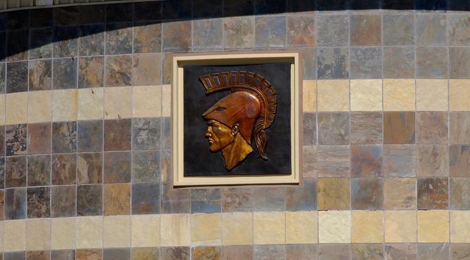 trojan plaque by quad
