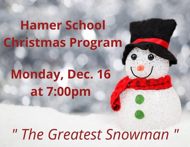 Hamer Christmas Program
