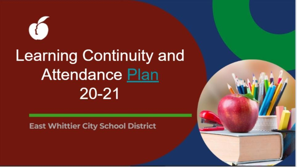 Learning Continuity Plan 20-21