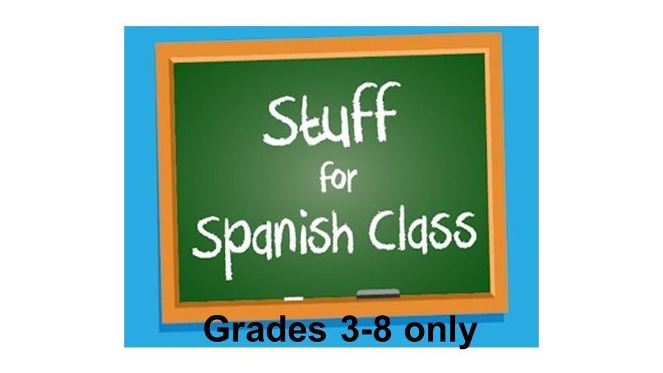 Spanish Class Supplies