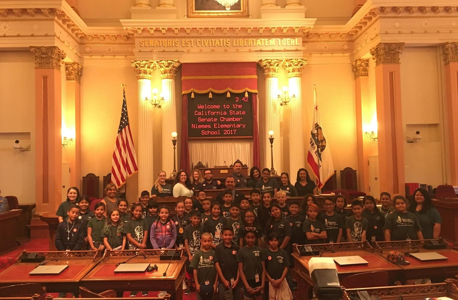 Students at Sacramento