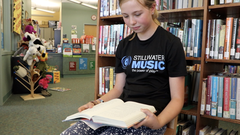 Student at FLM Library