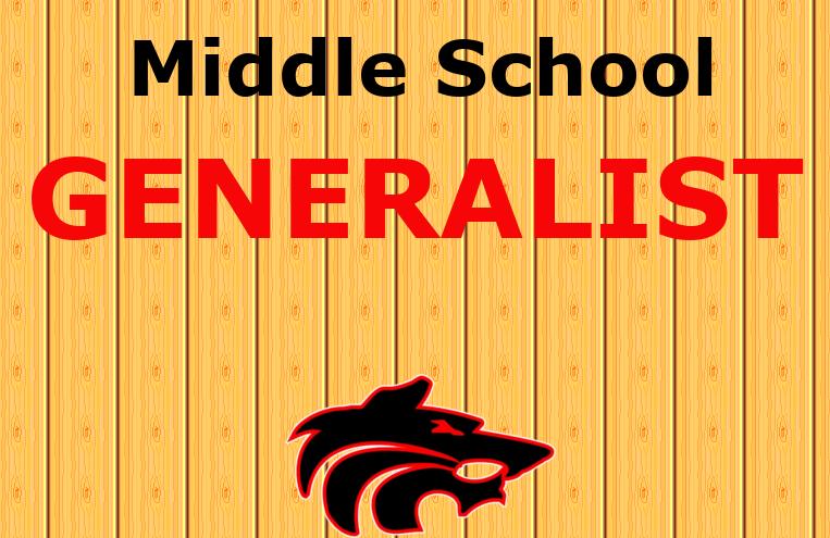 MIddle School Generalist