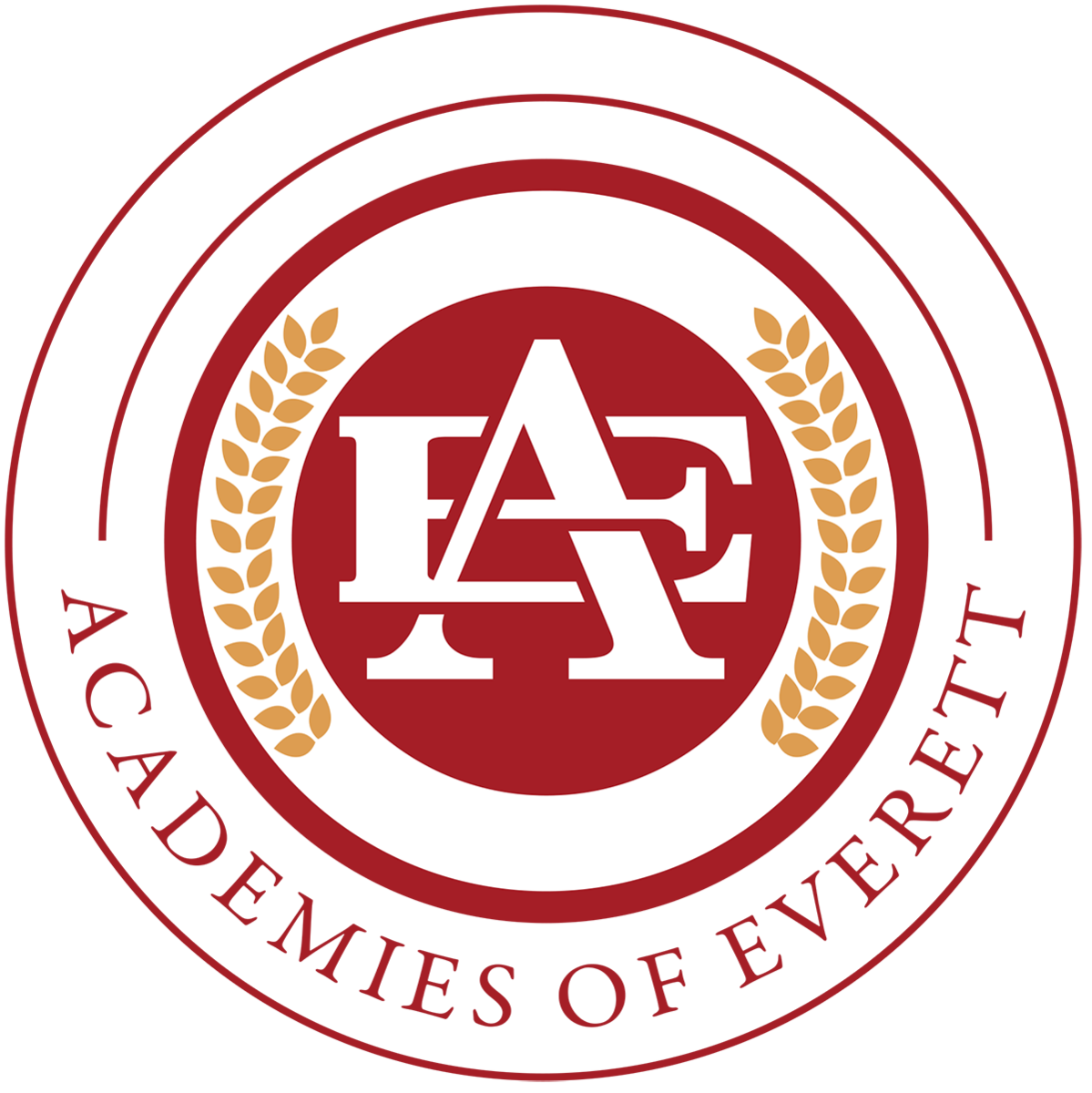 The Academies of Everett Master Logo