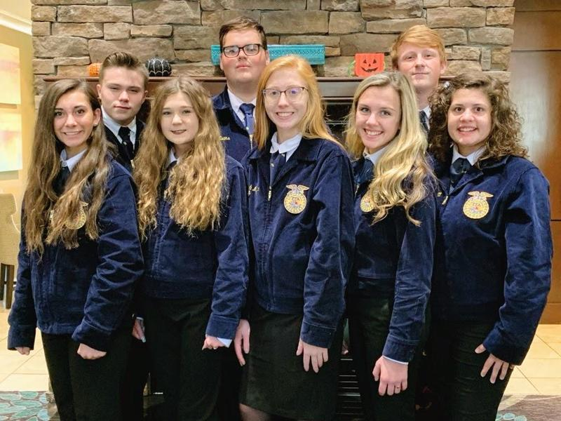 Tishomingo County FFA Members Compete at Nationals