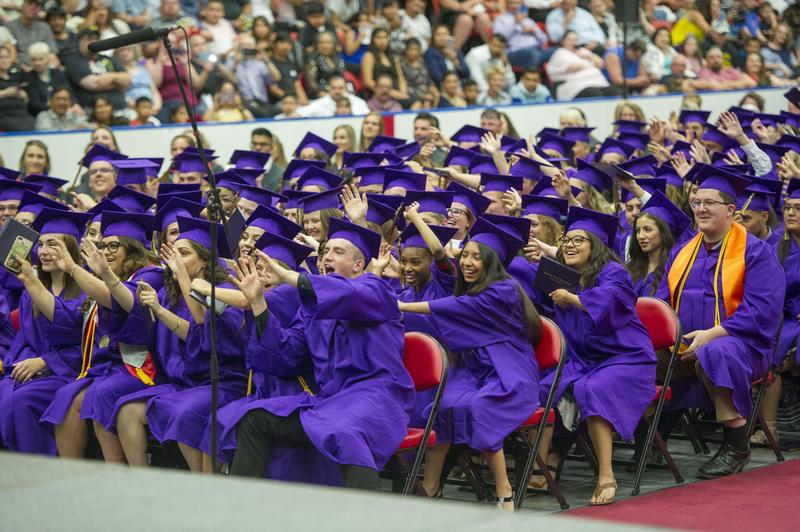 Hermiston High School graduates.