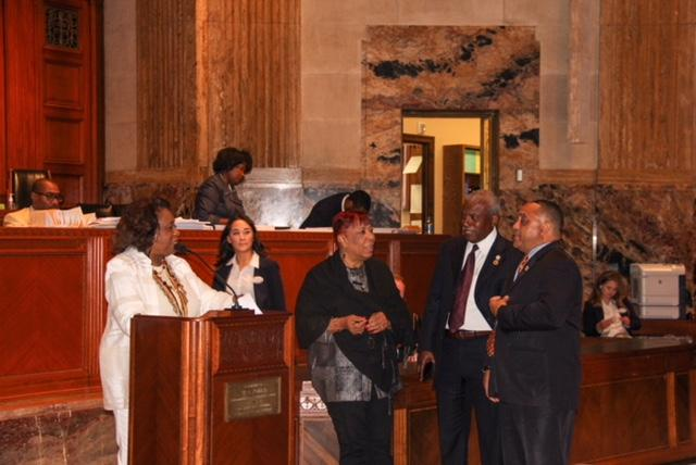 Photo of the band at state capital