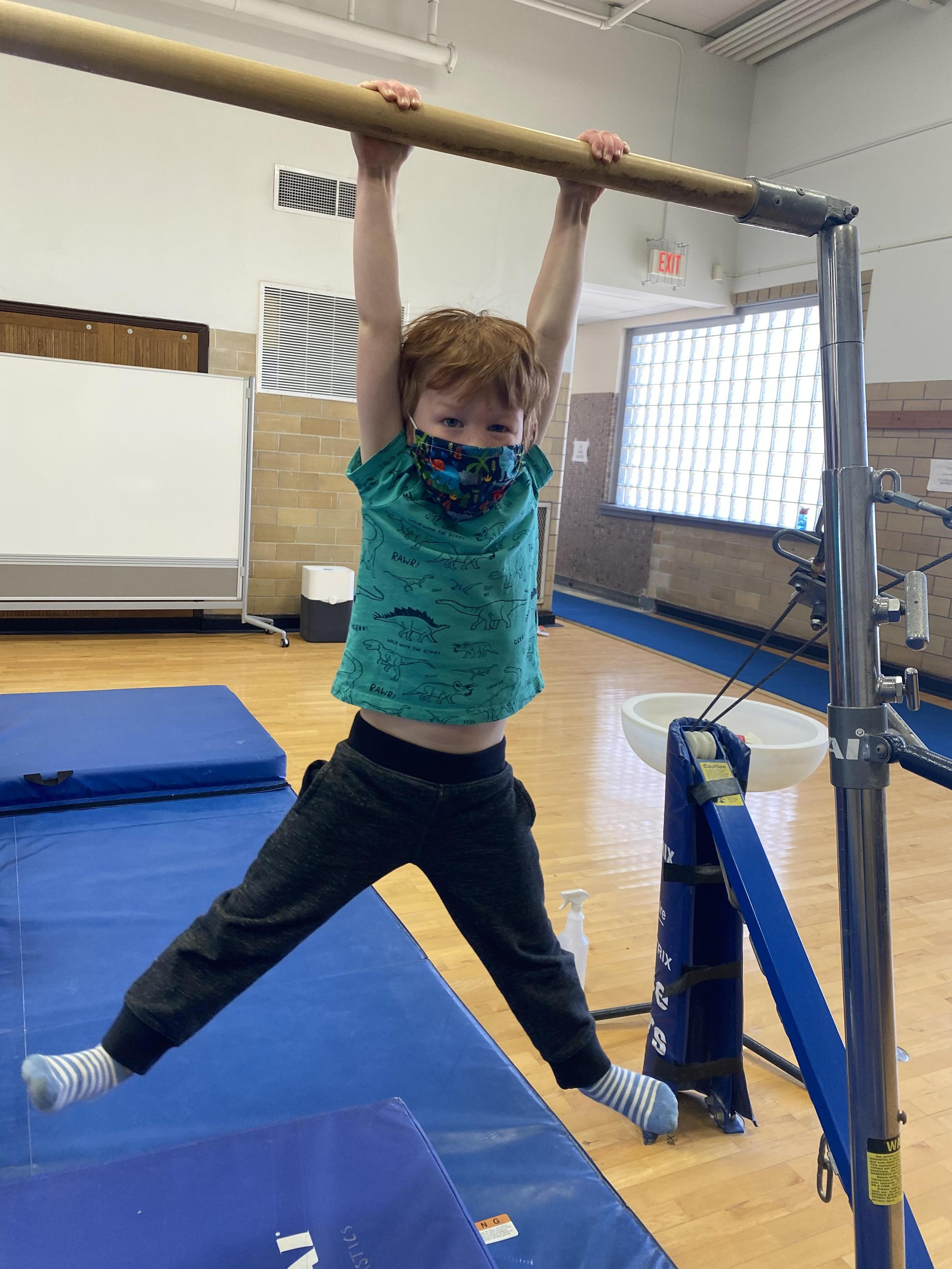 Tiny Tumblers gymnastics