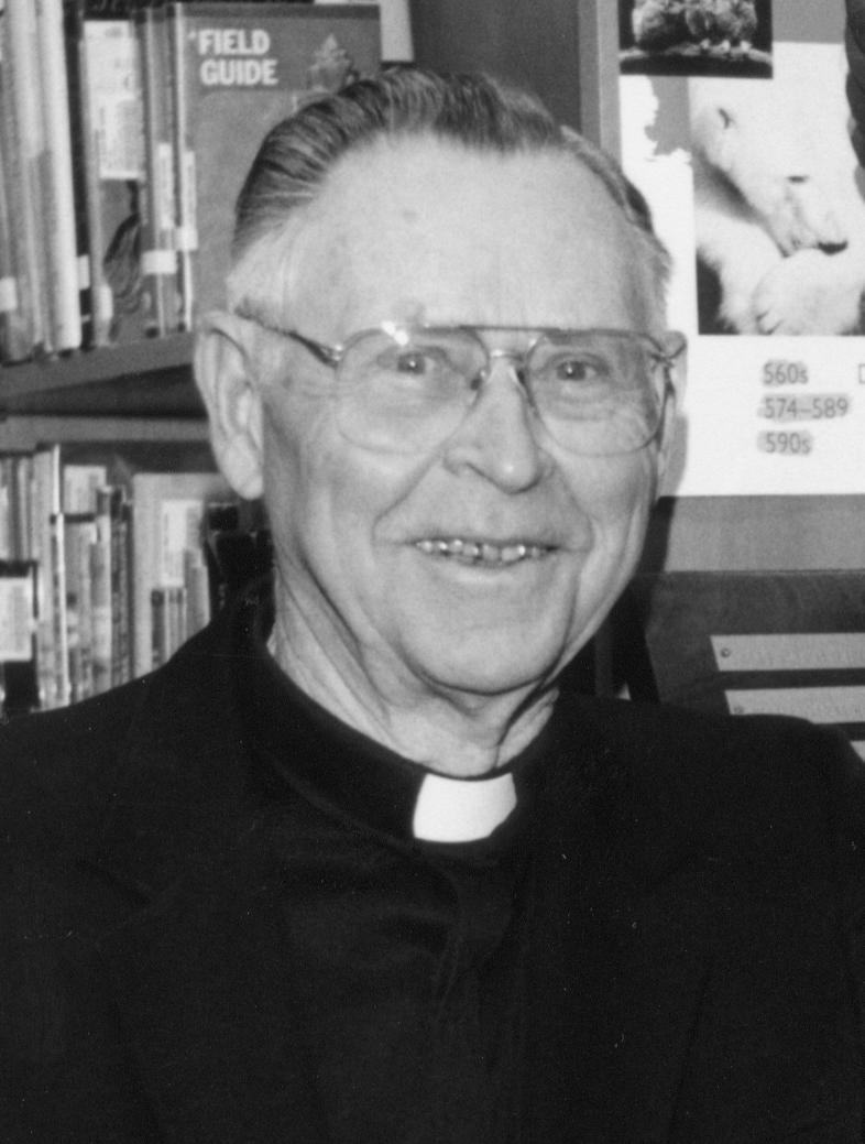 portrait of priest
