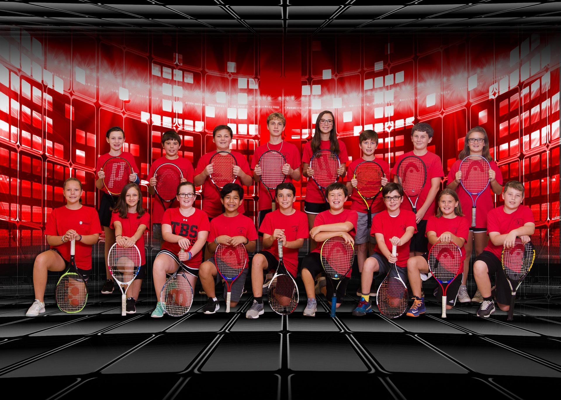 2018 Middle School Fall Co-Ed Tennis