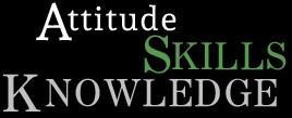 Picture states Attitude, Knowledge and Skills