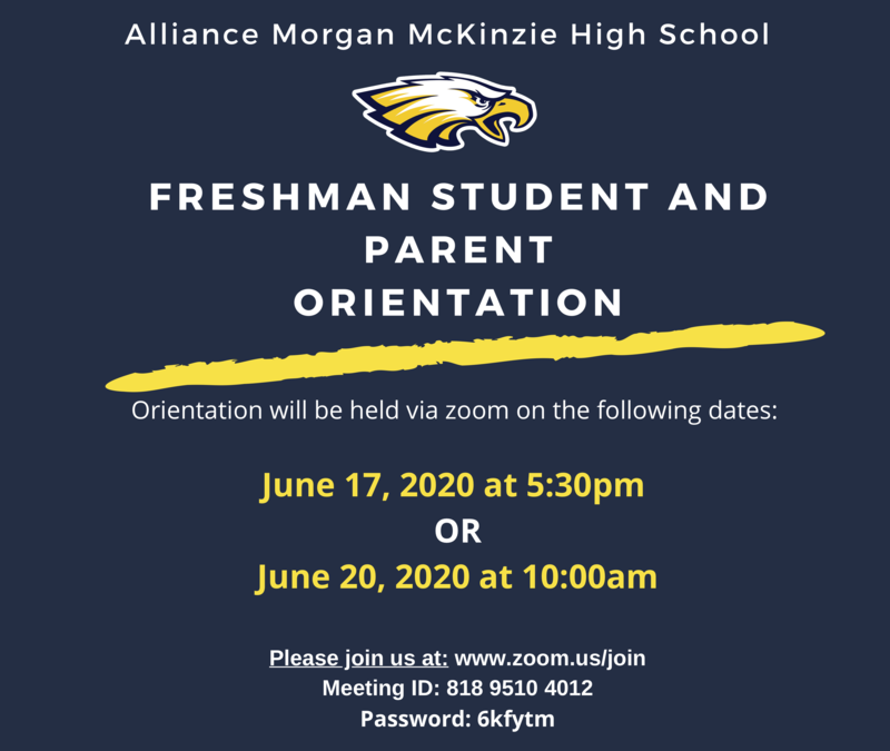 Freshman Student & Parent Orientation